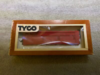 TYCO Mantua skid flat car with culvert pipe load Repro Red Box Insert T331
