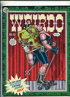 Weirdo # 20 1987   Robert Crumb underground comix MBX90