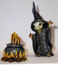 Harmony Kingdom Artist Neil Eyre Designs Mouse mice witch wizard cauldron cheese