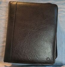 New Listingpreowned Franklin Covey Faux Leather Binder 7 2 Rings 10 X 8 Brown