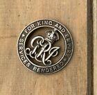 WW1 silver war badge no. A1012 Australian issue wound badge Pte C Sweeney AIF