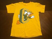 Vintage 90s NCAA Oregon Ducks X Disney Donald Duck T-Shirt Size M Made In USA