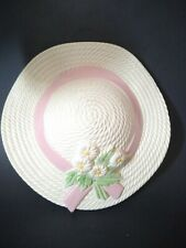 Plastic Straw Spring Hat Wall Pocket