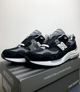 New Balance 992 Made In US (M992EB Black/Grey)