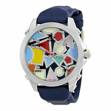 Jacob and Co. Five Time Zone Multi-Color Dial Diamond Mens Watch JCM-133DA