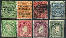 IRELAND Postage Stamp Collection EIRE Europe 1922-1923 Used