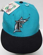 New Vtg 1990s FLORIDA MARLINS MLB BASEBALL New Era Pro Model CAP HAT MIAMI 7-1/4