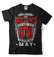 Birthday Gift T-shirt Best Men Are Born In May T-shirt