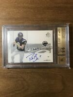 2001 SP Authentic Drew Brees Auto Rookie BGS 9.5 10 Sign of the Times Saints RC