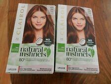 (2) Clairol Natural Instincts 6R Light Auburn Hair Color Dye No Ammonia/Parabens