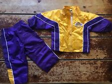 Los Angeles LAKERS 12 month Toddler Child Track Suit - Kobe 2000s Era NBA | Rare