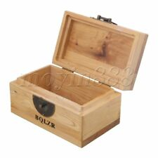 Pets Urn Cremation Ashes Memorial Box Personalised Wooden w/ Hinge