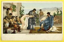 cpa Picture Post Card THE SLAVE MARKET Marché aux ESCLAVES (Giraud) Nu Nude