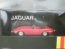CORGI Jaguar E Type in Red 1/43rd scale