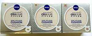 Nivea Hyaluron Cellular Filler 3 in1 Pflege Make-Up Tönung und Feuchtigkeit 15g