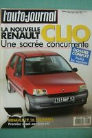 revue 1990 RENAULT CLIO + 19 16S / FORD SIERRA COSWORTH 4X4 / VW GOLF GTI 16S