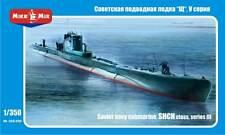 MikroMir 1/350 Shch class Russian WWII submarine, series V bis
