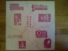 Iron Maiden, Ozzy Ozbourne, Def Leppard, Judas Priest 33t Ultra Rare