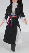 Barbie outfit with jacket blouse skirt boots hat new original mattel outfit