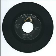 "1960 ELVIS PRESLEY ""IT'S NOW OR NEVER"" 45rpm 7"""