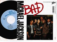 """MICHAEL JACKSON Bad /I Can't Help It JAPAN 7"""" SINGLE 07.5P-500 w/PS NM Wax FreeS"""