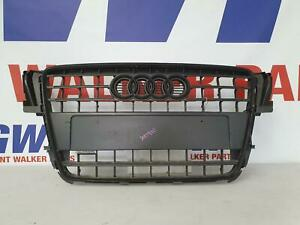 AUDI A5 GRILLE 8F/8T, RS5, COUPE/CABRIO, BLACK, W/BADGE 03/10-11/16