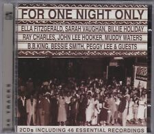 For One Night Only - Various Artists - CD (2CD 38119 Performance)