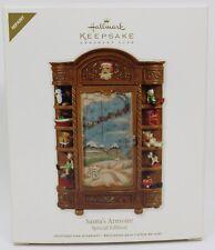 2011 Hallmark Keepsake Ornament Santa's Armoire Special Edition Repaint
