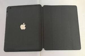 Genuine Apple iPad 2/3/4 Smart Case Dark Gray (charcoal) no box light marks
