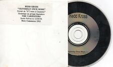 CD SINGLE REDD KROSSYesterday Once More FRENCH PROMO 1-TRACK CARD SLEEVERARE