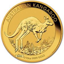 Australia Gold Kangaroo - 1/10 oz - $15 - BU - Random Date