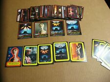 1978 Topps Close Encounters Of The Third Kind Complete Card and Sticker Set Nice