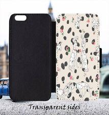 Disney 101 Dalmatians Leather Flip Wallet Phone Case Cover