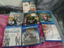 7 blu rays resident evil v tin tin Alice &bad neighbours breaking bad the artist