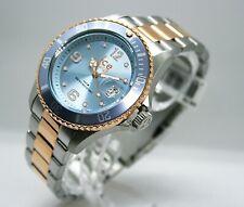 ✅ Ice-Watch ICE Steel Sky Medium Damenuhr Datum Bicolor 016770 ✅