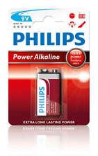 Philips potencia alcalina 9v 1er pack pilas 6lr61p1b/10