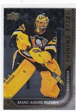 MARC-ANDRE FLEURY 2015-16 UPPER DECK SHINING STARS GOALIE #SS-17 PENGUINS !