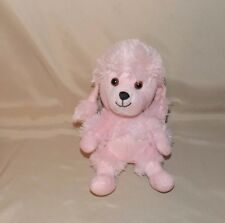 "Build A Bear Workshop SmallFrys Pink Poodle smallfry Dog stuffed plush 8"" Buddy"