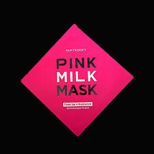 Duft & Doft Pink Milk Mask Tone Up + Radiance Facial Mask Sheet Korean Cosmetics