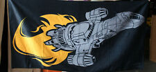 Firefly Serenity beach towel, loot crate item, open but never used.