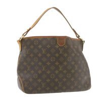 LOUIS VUITTON Monogram Delightful PM Shoulder Bag M50155 LV Auth 20557