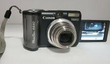 Canon PowerShot A640 10.0MP 4x optical zoomDigital Camera Black 30 fps movies