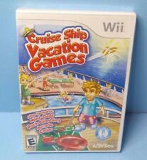 Cruise Ship: Vacation Games (Nintendo Wii, 2009) BRAND NEW FACTORY SEALED