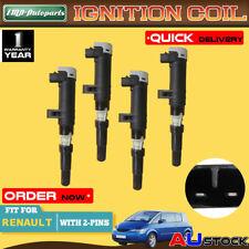 4x Ignition Coil for Renault Avantime Vel Satis Scenic Modus Espace 1999-2009