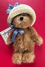 Boyds Bear Plush 7 Inch Lauren From The Hats And Such Series Brown With Hat