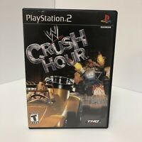 PS2 WWE Crush Hour PlayStation 2 CIB 2003 Video Game