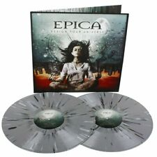 2 LP EPICA - DESIGN YOUR UNIVERSE - SPLATTER