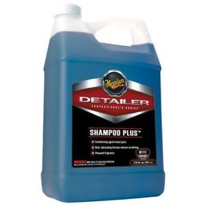 Meguiars Shampoo Plus, D11101, 3.8L (1Gal) [Combined Postage]