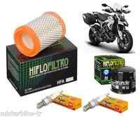 Pack Révision Filtre à Huile/Air Bougie Ducati 821 Hyperstrada  2013-2016