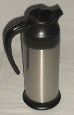 NEW!! Supera CRSV-33 Stainless Steel & Black 33 Oz. Cream Server Restaurant
